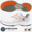 【即納】WIMBLEDON ウィンブルドン テニスシューズ レディース 全2色 WL3500 WL-3500 ジュニア オールコート 軽量 4E …