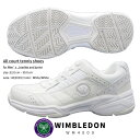 WIMBLEDON ウィンブルドン テニスシューズ メンズ レディース WM4000 WM-4000 ジュニア オールコート対応モデル 軽量 …