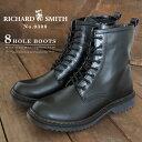 【即納】RICHARD SMITH リチャード・スミス 8ホールブーツ 9300 メンズ サイドジップブーツ ワークブーツ ショートブ…