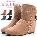 【大特価】 primevere LIZLISA プリムヴェール リズリサ ブーツ 1754 レディース ウエッジソールブーツ