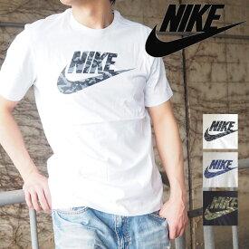 【メール便可】 NIKE ナイキ カットソー カモ パック S/S Tシャツ 2 BQ5368 メンズ トップス ロゴT 半袖 Tシャツ カジュアル カモフラ 迷彩