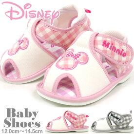 【大特価/即納】 Disney ディズニー サンダル キッズ 全2色 DS4133 ベビーサンダル 赤ちゃん 女の子 男の子 笛付 ミッキー ミニー