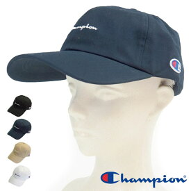 帽子 メンズ レディース チャンピオン Champion ツイルキャップ 181-019A ロゴ ローキャップ