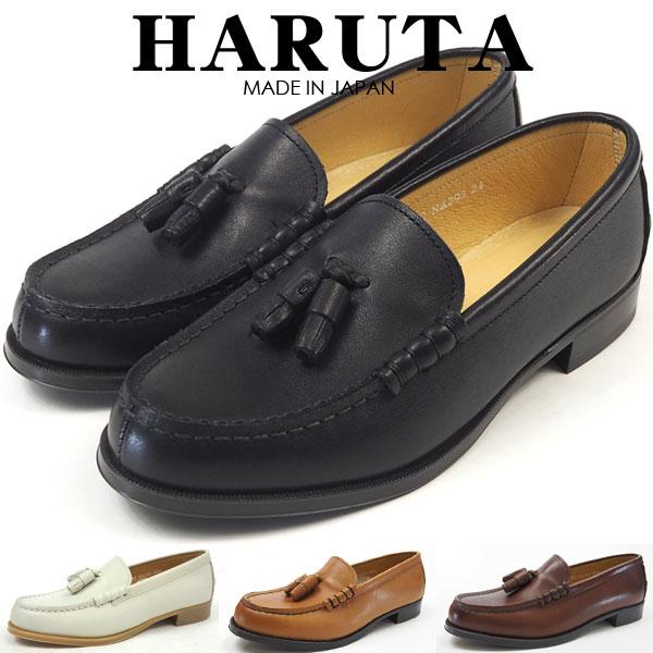 【即納】HARUTA ローファー NA303 レディース タッセルローファー 日本製 本革