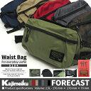 Kajimeiku カジメイク FORECAST フォーキャスト 9104 Waist Bag ウエストバッグ メンズ レディース ジュニア キッズ …