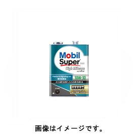 モービル(Mobil) Mobil Super/モービルスーパー 2000 High Mileage/ハイマイレージ エンジンオイル 10W-30 10W30 4L×1