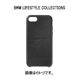 BMW 純正 M スマートフォンケース レザー ブラック iPhoneXS用 80212466055