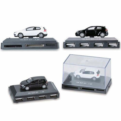 フォルクスワーゲン【VW】純正アクセサリー ゴフル5 GTI カードリーダー 1:87 ブラック