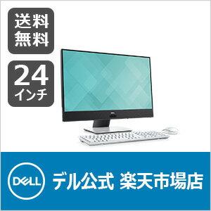Dell Inspiron 24 5000 デスクトップ プラチナ・タッチパネル