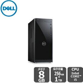 Dell プレミアム(SSD+HDD搭載)i5 8GB 1TB HDD 256GB SSD inspiron-3670 デスクトップ[新品]