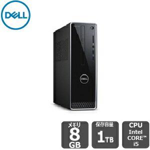 期間限定SALE!【4/26 (金)までの特別価格】Dell プレミアム【短納期モデル】i5 8GB 1TBHDD inspiron-3470デスクトップ[新品]