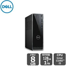 【ポイント最大31倍!期間限定9/24(火)まで】Dell プレミアム・SSDデュアルドライブi5 8GB 1TB HDD 128SSD inspiron-3470 デスクトップ[新品]