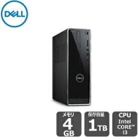 【超ポイントバック祭!期間中:ポイント最大29倍!期間限定SALE!】 Dell スタンダード・Office Personal 2019 付き i3 4GB 1TB HDD inspiron-3471 デスクトップ[新品]