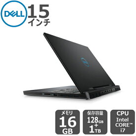 Dell プラチナVR(大容量メモリー・RTX2060搭載)i7 16GB 1TB HDD 128GB SSD 15.6インチ FHD g-series-15-5590 ゲーミングノートパソコン[新品]