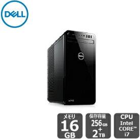 期間限定SALE!【6/26 (水) までの特別価格】Dell 夏季限定モデル 【短納期】プラチナ(SSD+HDD・GTX1050Ti搭載・Office 2019 H&B付き) i7 16GB 2TB HDD 256GB SSD xps-8930 デスクトップ[新品]