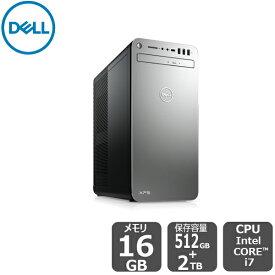 【超ポイントバック祭!期間中:ポイント最大29倍!期間限定SALE!】 Dell プラチナ・VR(SSD+HDD・GTX1660Ti搭載)i7 16GB 2TB HDD 512GB SSD xps-8930-se デスクトップ[新品]