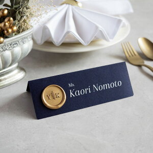 席札・Wedding Name Plate 【design-ISA】【20名分以上から注文可能】