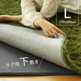 ラグ用下敷き クッション 防音 ラグ カーペット ホットカーペット対応 床暖対応 滑り止め ボリューム 1.5 2 3畳 手洗い可能 review【一部地域/送料別】