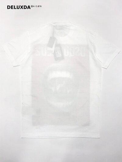 【2019SS】【正規代理店商品】DSQUARED2ディースクエアードマウスプリントTシャツS74GD0476