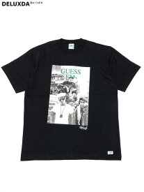 【GUESS GREEN LABEL】GRFW19-048 BLACK GUESS × Ricky Powell (ゲス リッキーパウエル)】 Beastie Boys P1 TEE (ビースティーボーイズ Tシャツ)