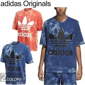 """20%OFFセール adidas Originals アディダス オリジナルス""""TIE DYE TEE""""CW1333 CW1334 タイダイ Tシャツ オーバーサイズ カットソー トレフォイル 三つ葉 ストリート メンズ レディース 半袖 2カラー 国内正規"""