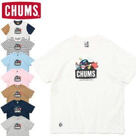 10%OFFセール CHUMS チャムス CH01-1836 SCUBA DIVING BOOBY T-SHIRT スキューバ ダイビング ブービー Tシャツ 半袖 トップス アウトドア キャンプ フェス メンズ レディース ユニセックス 8カラー 国内正規 2021SS