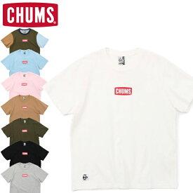 10%OFFセール CHUMS チャムス CH01-1837 MINI CHUMS LOGO T-SHIRT ミニ チャムス ロゴ Tシャツ 半袖 トップス アウトドア キャンプ フェス メンズ レディース ユニセックス 8カラー 国内正規 2021SS