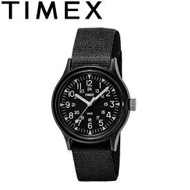 TIMEX タイメックス TW2R13800 ORIGINAL CAMPER オリジナル キャンパー クォーツ ミリタリー ウォッチ 3気圧 30m防水 アウトドア キャンプ メンズ レディース 復刻 軍用時計 腕時計 ブラック 国内正規 2021SS