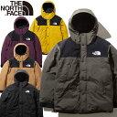 THE NORTH FACE ザ ノースフェイス ND91930 MOUNTAIN DOWN JACKET マウンテン ダウン ジャケット GORE-TEX ゴアテック…