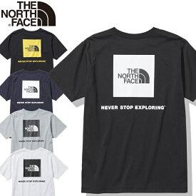 THE NORTH FACE ザ ノースフェイス NT32144 S/S SQUARE LOGO TEE ショートスリーブ スクエアロゴティー Tシャツ ビッグロゴ ストリート トップス カットソー アウトドア メンズ レディース 半袖 4カラー 国内正規 2021SS