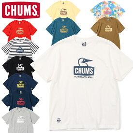 10%OFFセール チャムス CHUMS CH01-1834 BOOBY FACE T-SHIRT ブービー フェイス Tシャツ 半袖 トップス アウトドア キャンプ フェス メンズ レディース ユニセックス 10カラー 国内正規 2021SS