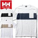 ヘリーハンセン HELLY HANSEN HE62030 S/S BORDER TEE ショート スリーブ ボーダーティー Tシャツ ポケT アウトドア …