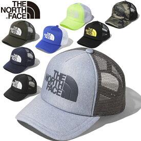 ザ ノースフェイス THE NORTH FACE NN02045 LOGO MESH CAP ロゴ メッシュキャップ スナップバック ナイロン トラッカーメッシュ ベースボール 帽子 メンズ レディース アウトドア 9カラー 国内正規 2021SS