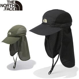 ザ ノースフェイス THE NORTH FACE NN02104 SUNSHIELD CAP サンシールド キャップ UVケア 虫よけ キャンプ アウトドア メンズ レディース ユニセックス 日焼け防止 撥水 登山 帽子 3カラー 国内正規 2021SS