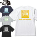 10%OFFセール ザ ノースフェイス THE NORTH FACE NT32108 S/S BANDANA SQUARE LOGO TEE ショートスリーブ バンダナ スクエア ロゴ ティ…