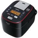 Panasonic パナソニック【SR-SPA107-K】SRSPA107-K スチーム&可変圧力IHジャー炊飯器(5.5合炊き) ブラック【KK9N…