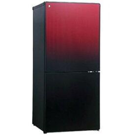 ユーイング 【UR-FG110J-R】URFG110J-R 110L 2ドア冷蔵庫(ざくろレッド)【右開き】 UING 【KK9N0D18P】