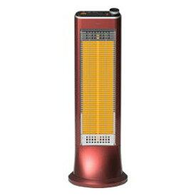 ユーイング 【US-CR900L-R】USCR900L-R 速暖カーボンヒーター ざくろレッド 電気ストーブ【KK9N0D18P】