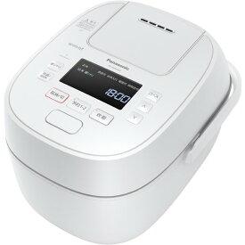 Panasonic パナソニック【SR-MPW100-W】SRMPW100-W 可変圧力IHジャー炊飯器 HIGH STANDARDシリーズ Wおどり炊き 5.5合炊き ホワイト【KK9N0D18P】