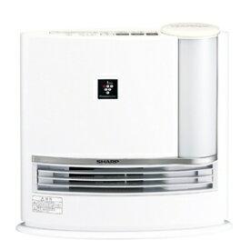 SHARP シャープ【HX-L120-W】HXL120-W  加湿機能付きセラミックファンヒーター(ホワイト系アイボリーホワイト) 【暖房器具】 「プラズマクラスター7000」搭載【KK9N0D18P】