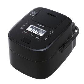 パナソニック スチーム&可変圧力IHジャー炊飯器 Wおどり炊き 5.5合炊き SR-VSX108-K