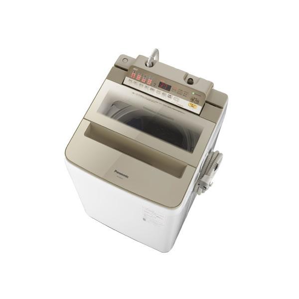 パナソニック 全自動洗濯機 8.0kg パワフル滝洗い NA-FA80H6-N シャンパン
