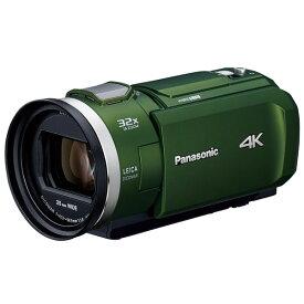 パナソニック デジタル4Kビデオカメラ 4K PREMIUM HC-VZX2M-G フォレストカーキ