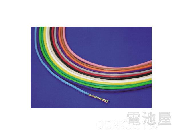 0.5-4P NSEDT 日本製線 300m LANケーブル CAT5e UTP カテゴリー5 WH<白:0.5-4P NSEDT-WH> | パソコン インターネット オンライン ゲーム ネットワーク IPカメラ 延長
