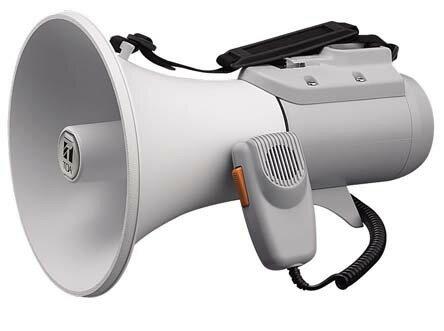 【送料無料】ER-2115 TOA製 ショルダーメガホン 15W ER2115 | 拡声器 | メガホン | イベント | 運動会 | 避難訓練 | 誘導 | 防災 | 演説 | 学校 | 消防