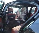 【入荷待ち 納期1月下旬頃】車用 透明カーテン PVC セパレート キット 飛沫防止 一般車 用/ 小型 SUV 用 Mサイズ 【強力両面テープ付属…