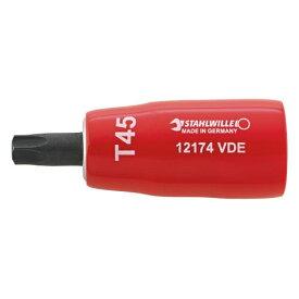 12174VDE-T45 3/8SQ 絶縁ヘクスローブ(02390045) STAHLWILLE(スタビレー)