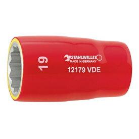 12179VDE-19 (1/2SQ)絶縁ソケット (03370019) STAHLWILLE(スタビレー)