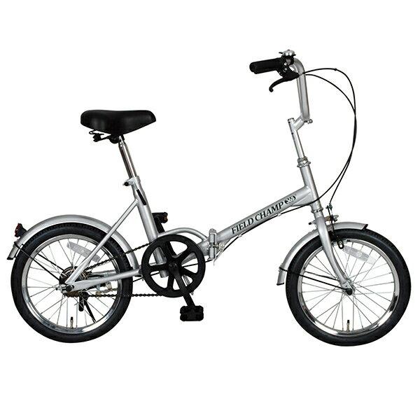 【PC限定 エントリーでポイント10倍!】No.72750 フィールドチャンプ365 FDB16 軽量・コンパクト 16インチ折畳自転車<代引不可><メーカー直送品>
