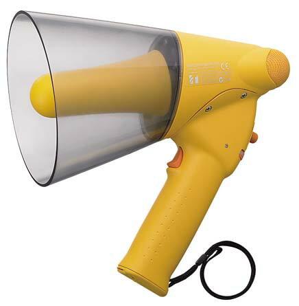 【1月特価品】ER-1106W TOA 小型メガホン ホイッスル付き 防滴タイプ | 拡声器 | メガホン | イベント | 運動会 | 避難訓練 | 誘導 | 防災 | 演説 | 学校 | 消防【限定価格・送料無料!】